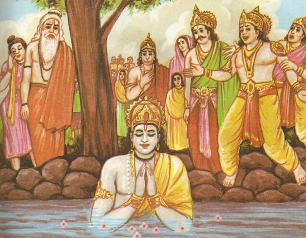 reincarnation in the ramayana Reincarnation in indian epics  i based most of my story off of buck's version of ramayana since there was a lot more detail to work with and he included the.